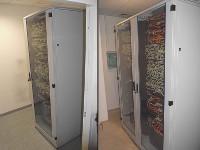 Wyposażone szafy rack